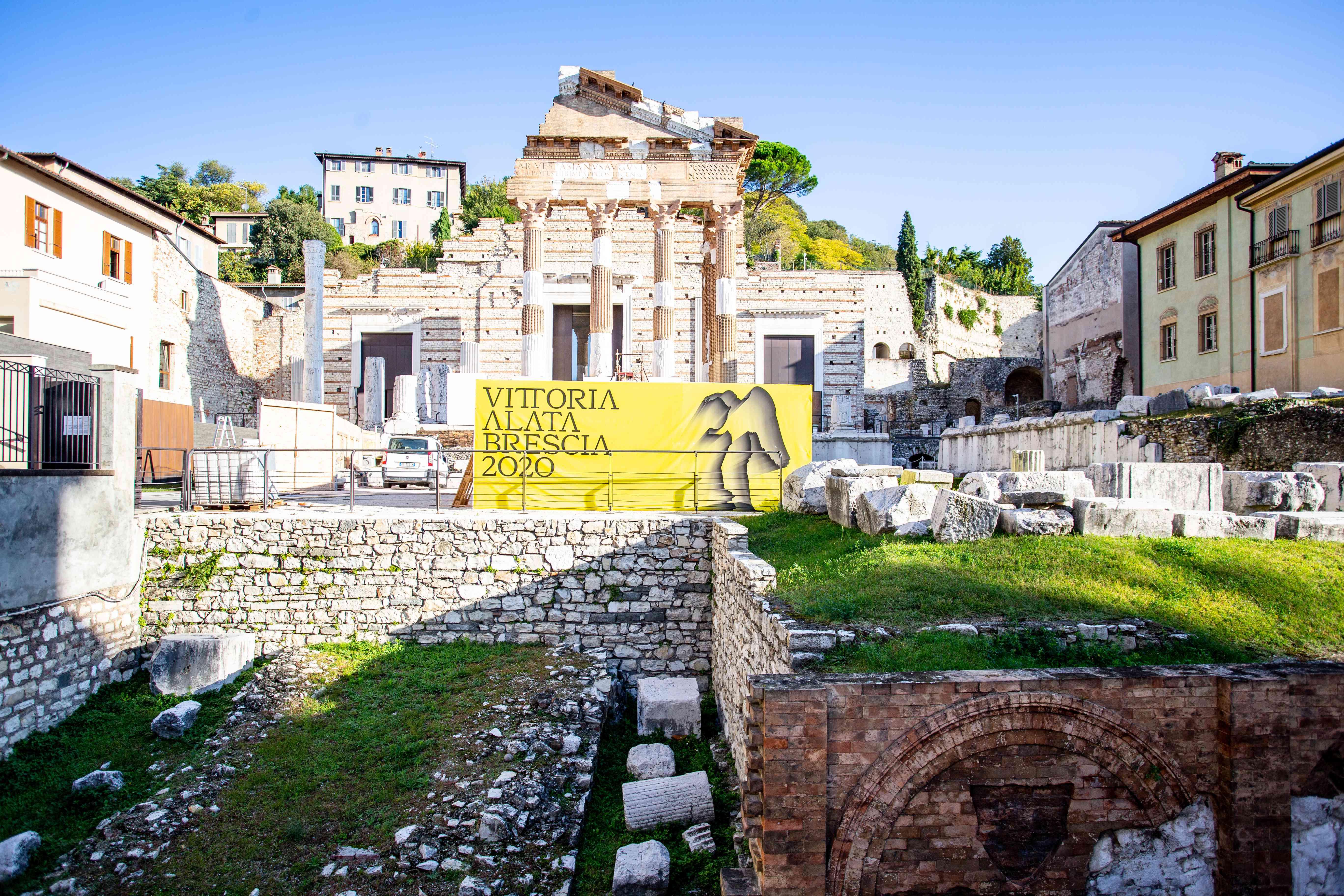 Roman Ruins in Franciacorta, Italy