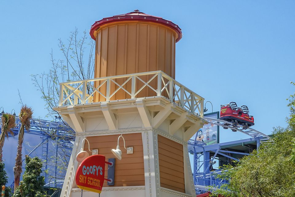 Goofy's Sky School en Disney California Adventure