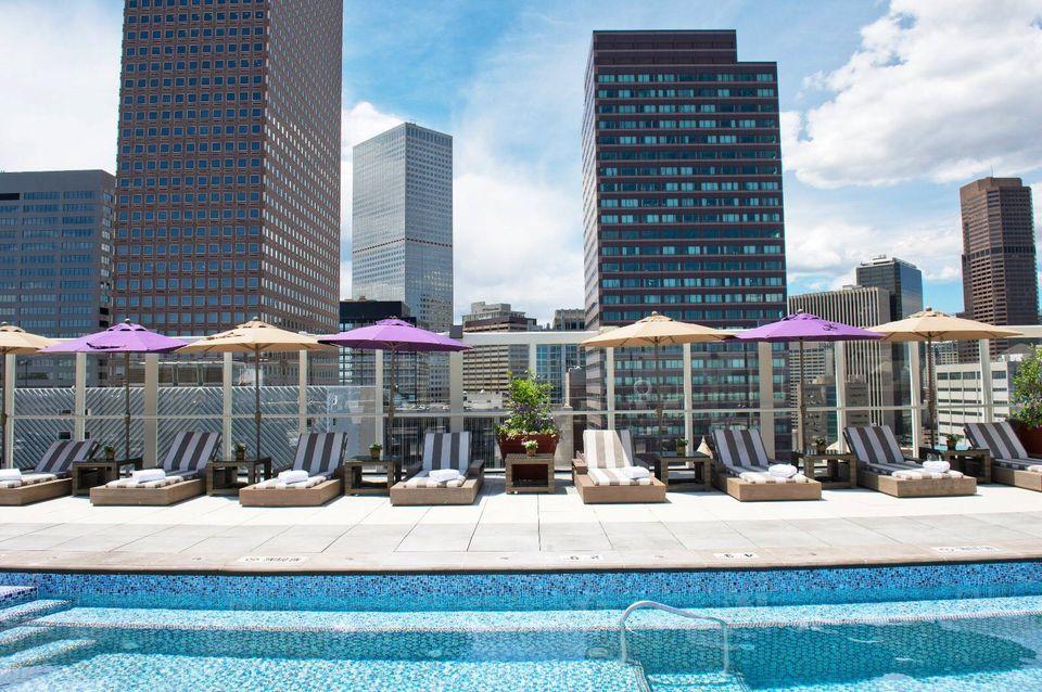 Warwick Hotel Rooftop Pool
