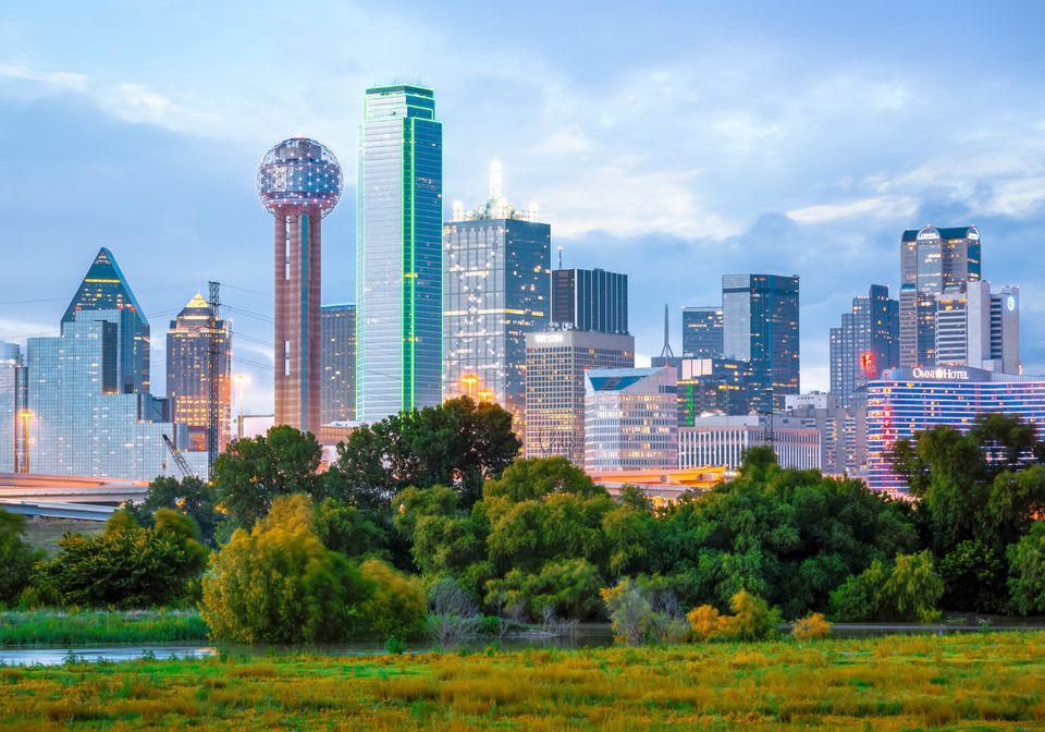 View of Dallas skyline