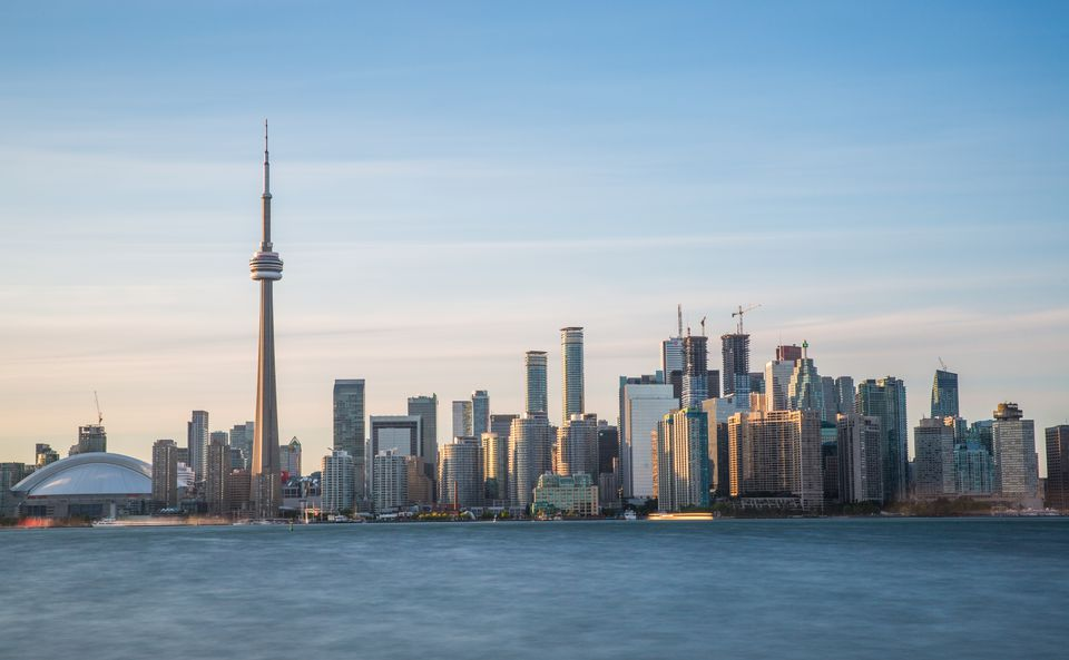 The CN Tower and Toronto Skyline