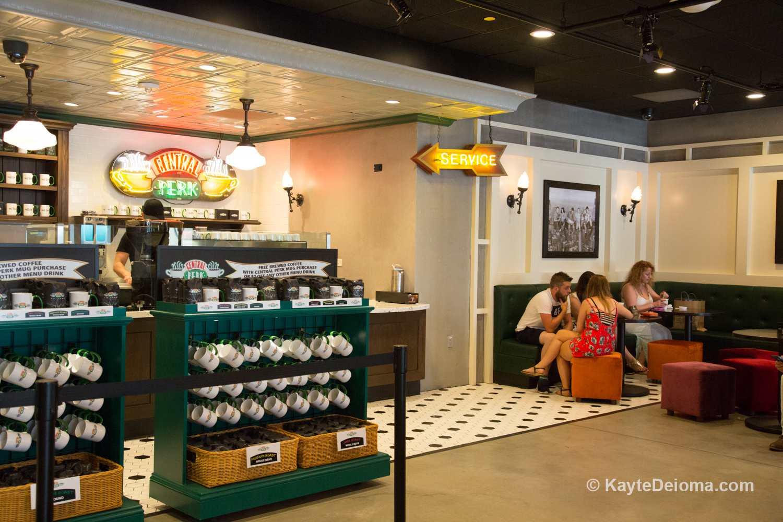 Central Perk Coffee Shop on the Warner Bros. Studio Tour