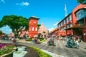 Dutch Square, Melaka, Malaysia