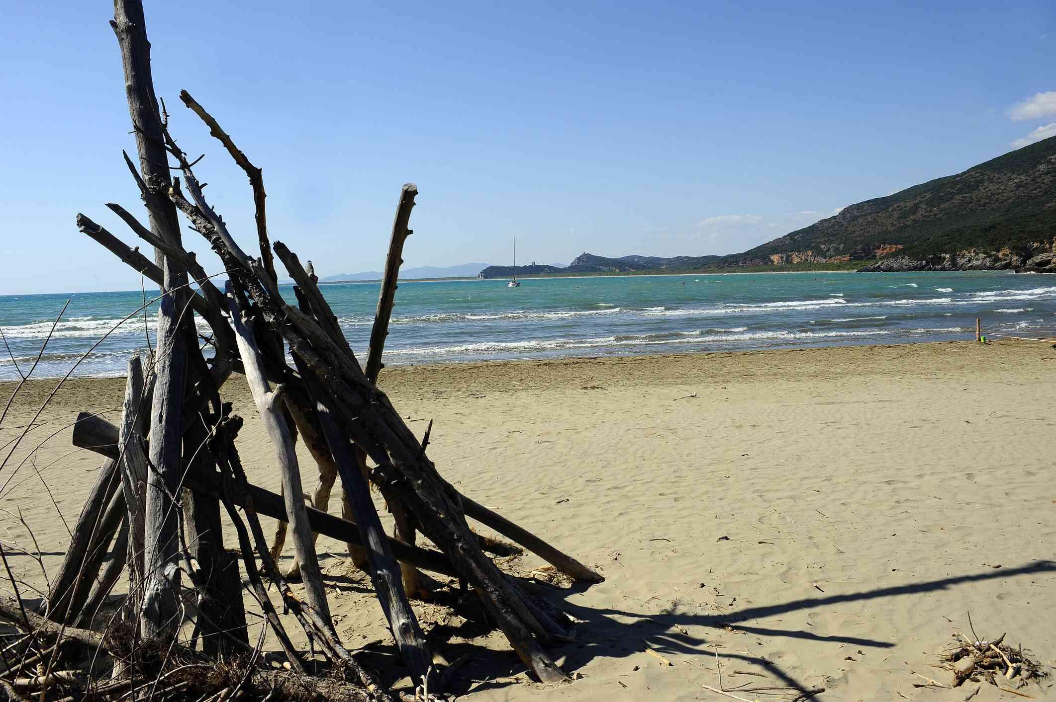 Beach at Marina di Alberese