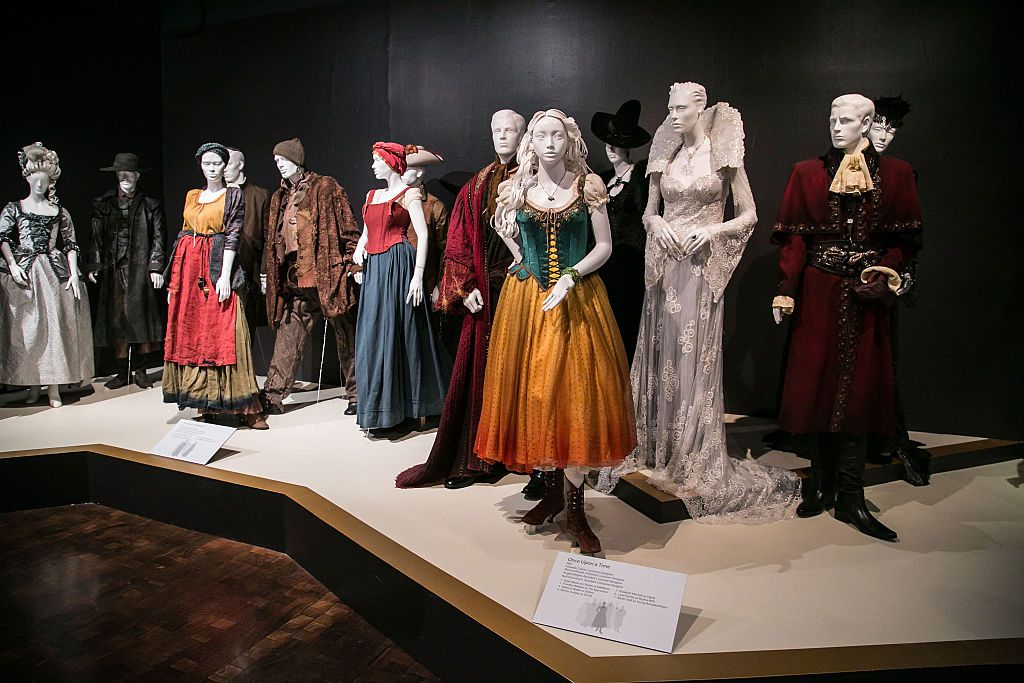 9th Annual Outstanding Art Of Television Costume Design Reception And Exhibition Media Preview at FIDM Costume Exhibit