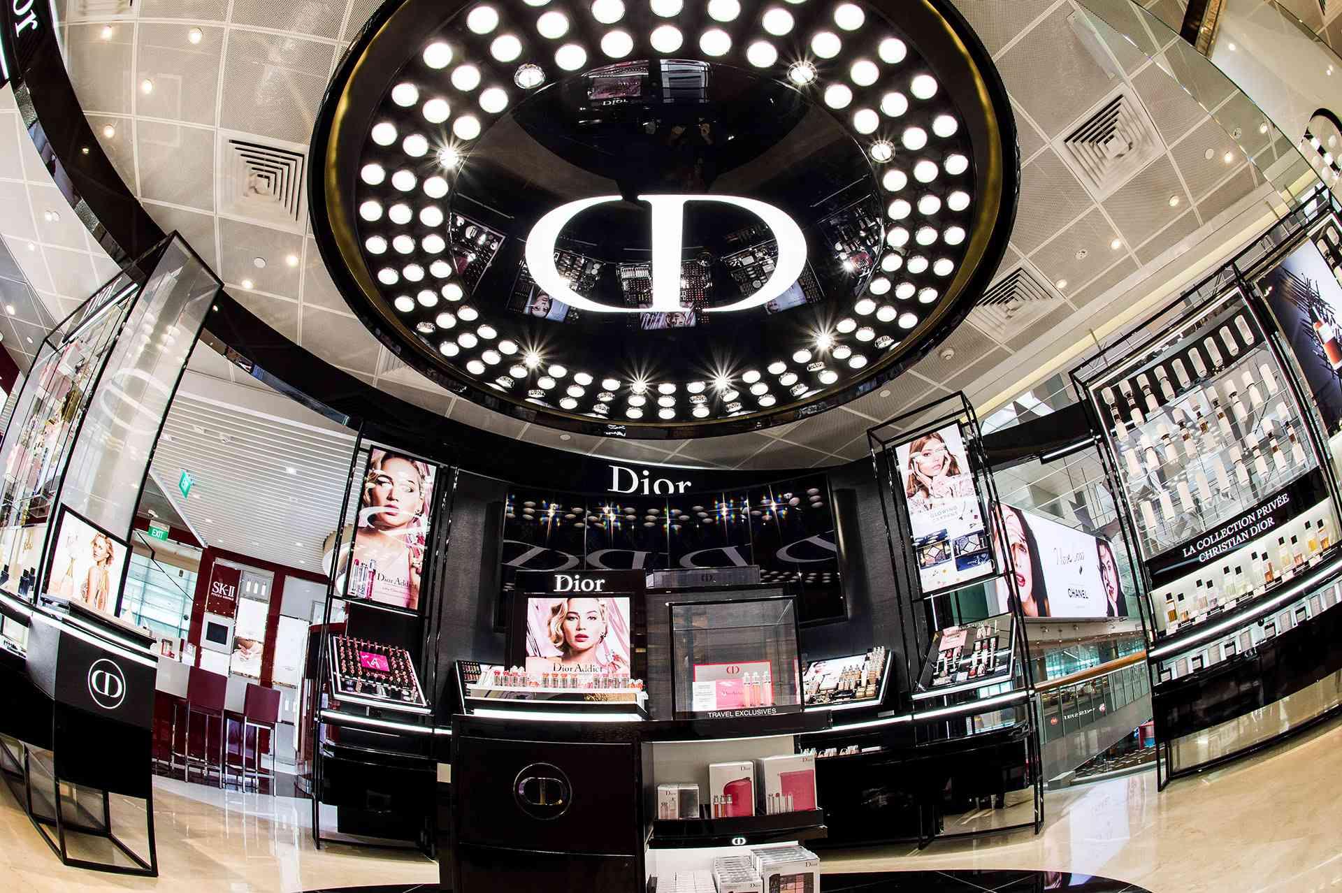 Dior Lounge, Shilla Duplex, Terminal 3, Changi Airport