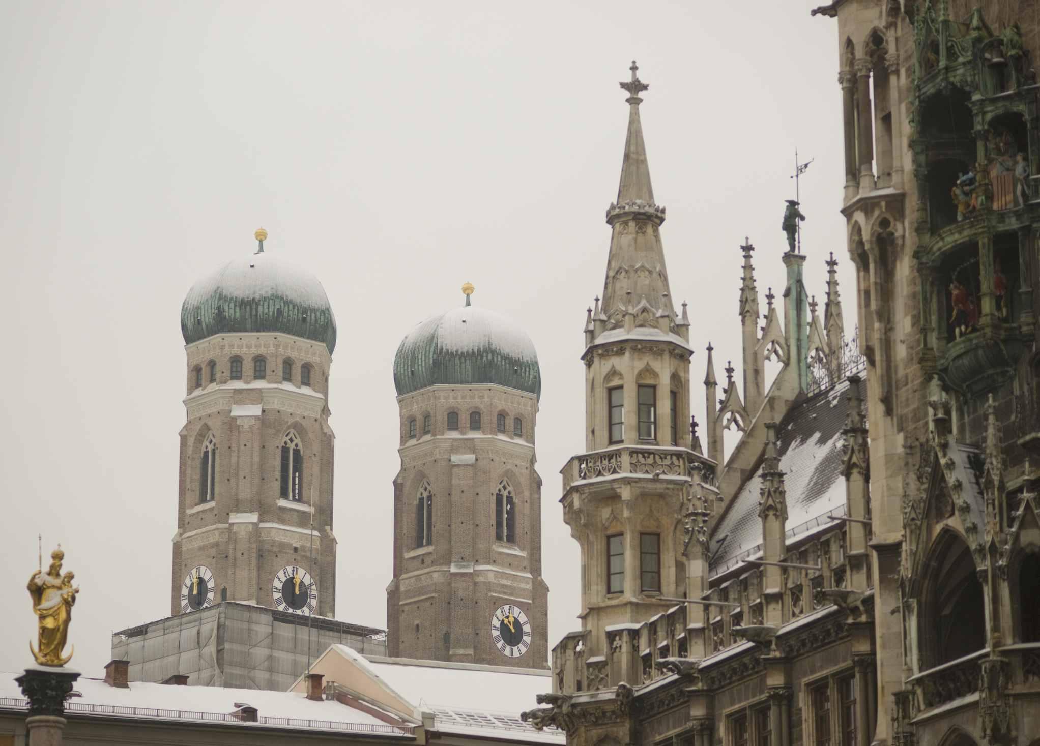 Munich's Church Of Our Lady (Dom Zu Unserer Lieben Frau)