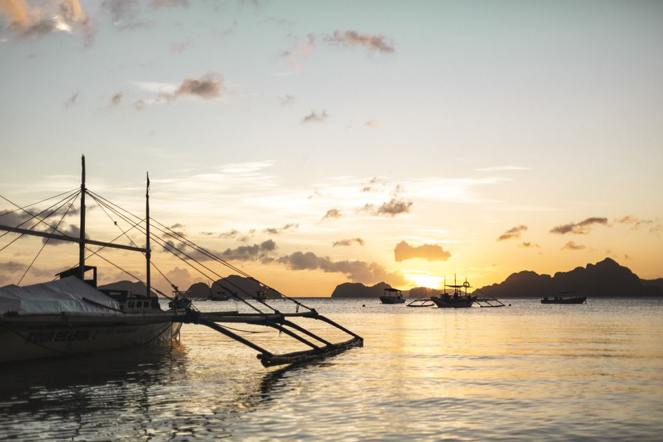 El Nido at Sunset