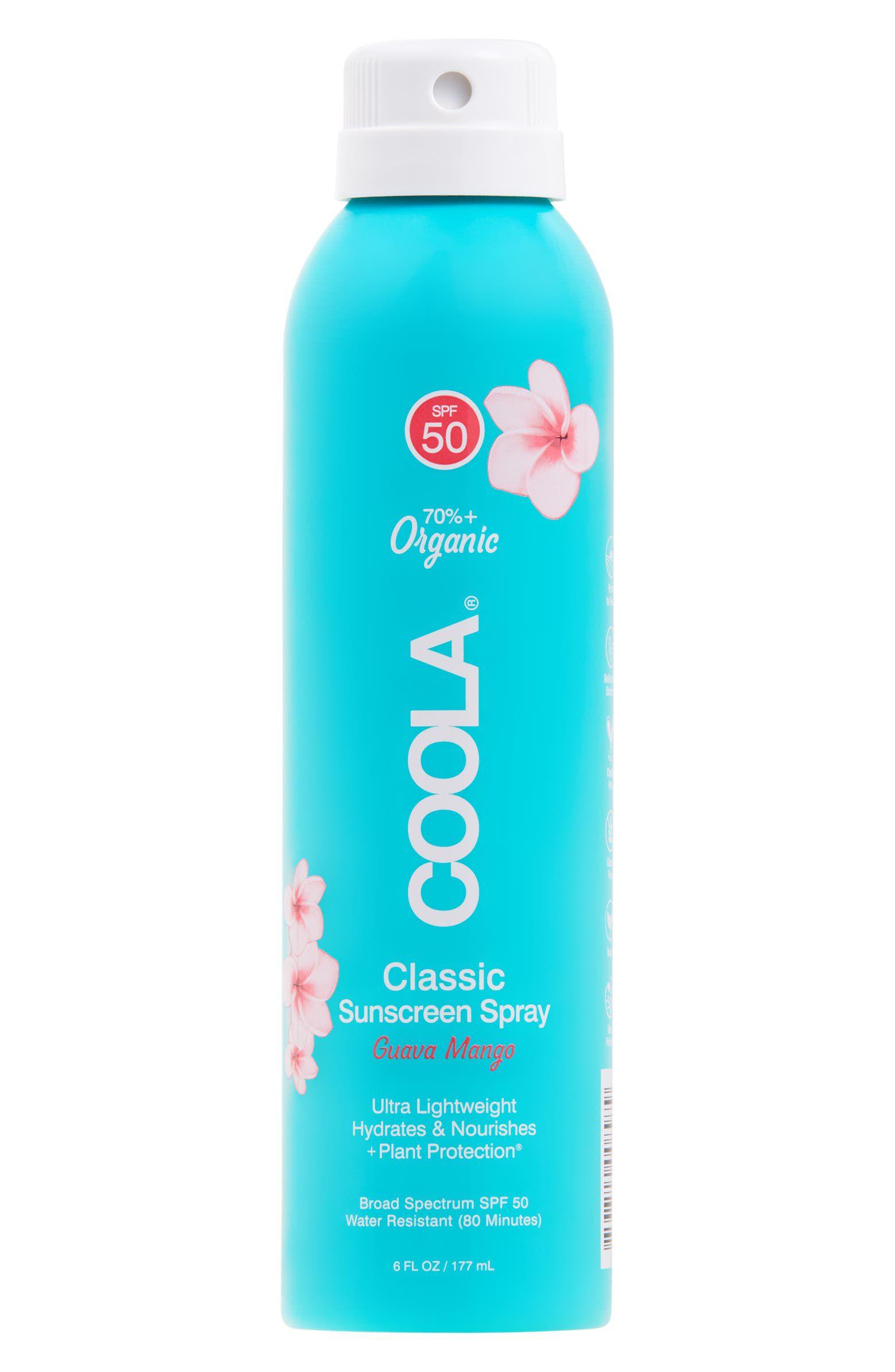 Coola Suncare Guava Mango Eco-Lux Sport Sunscreen Spray SPF 50q