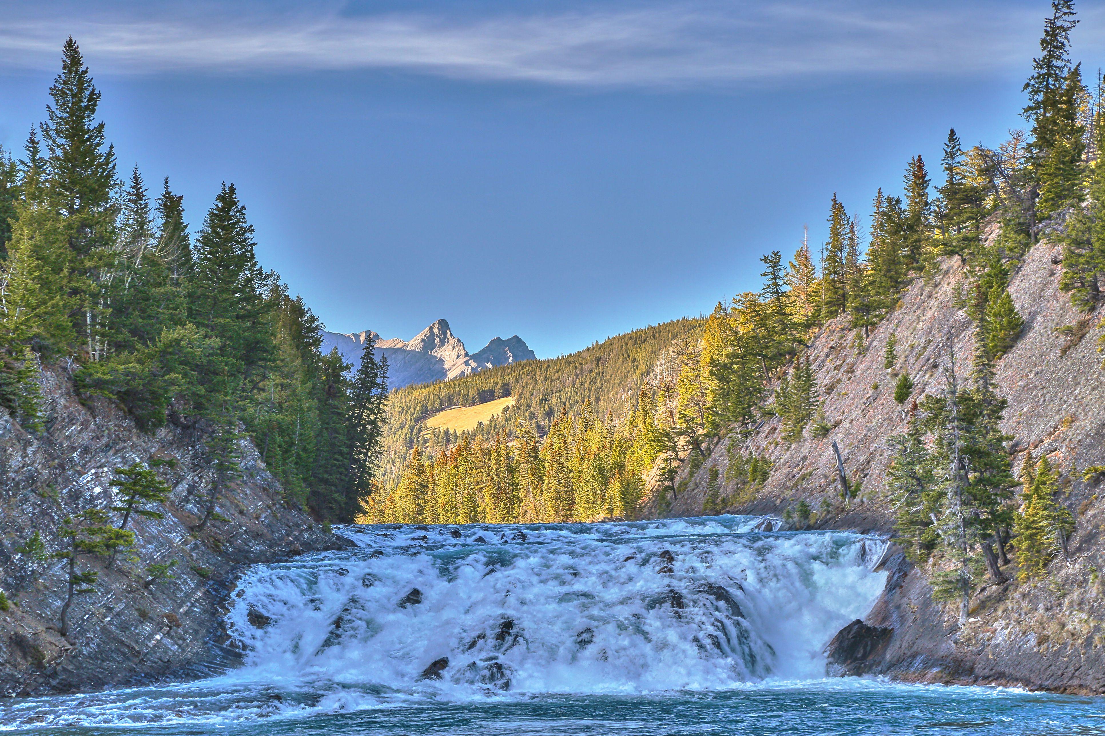 Bow Falls, Banff National Park, Alberta