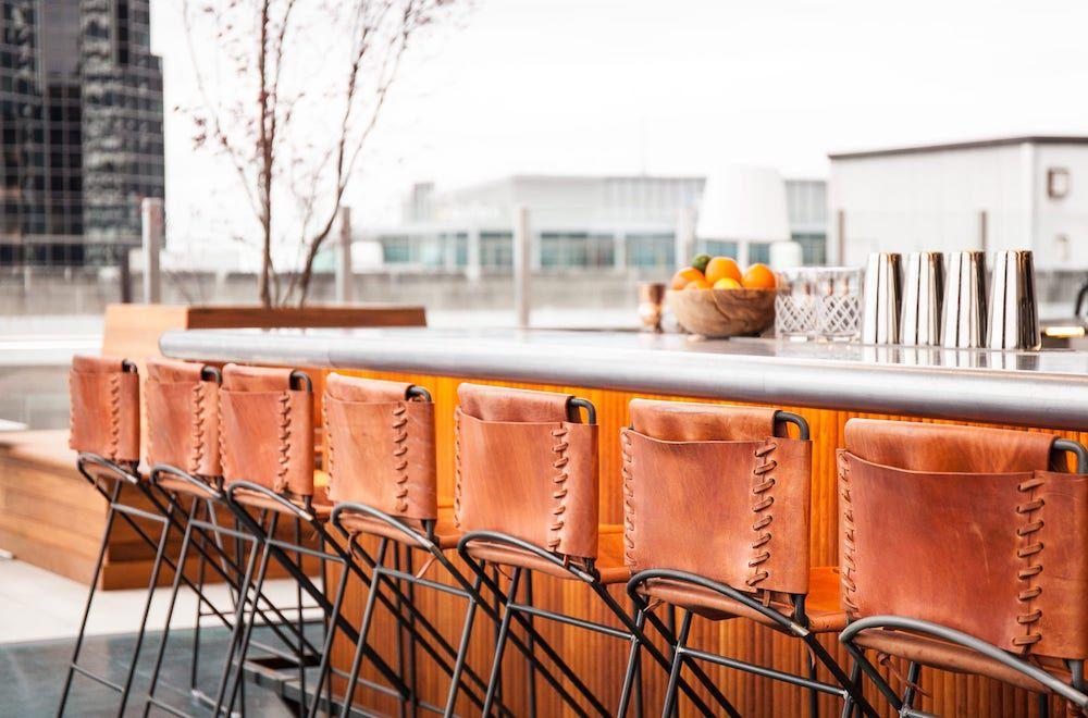 rooftop bar Rare Bird in Nashville