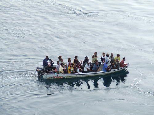 Papua New Guinea Ferry in Madang, Papua New Guinea