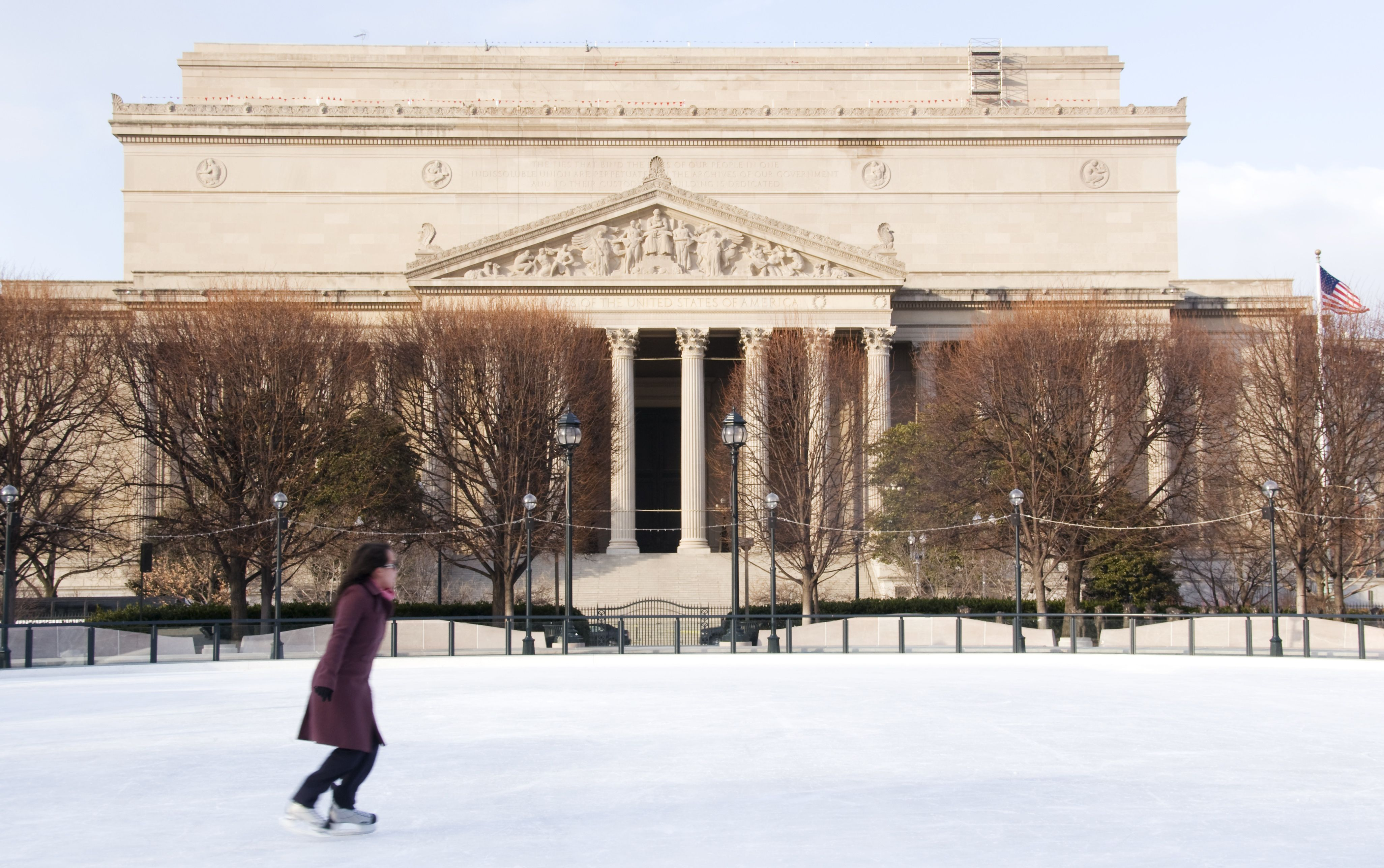 8 Outdoor Ice Skating Rinks In The Washington, D.C. Area