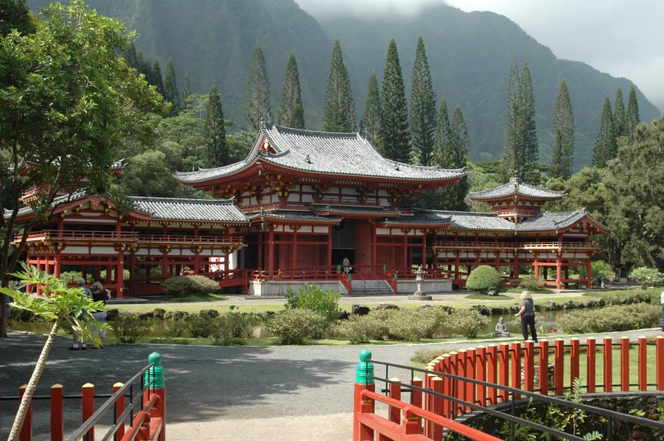 Byodo-In Temple, Kahaluu, O'ahu, Hawaii