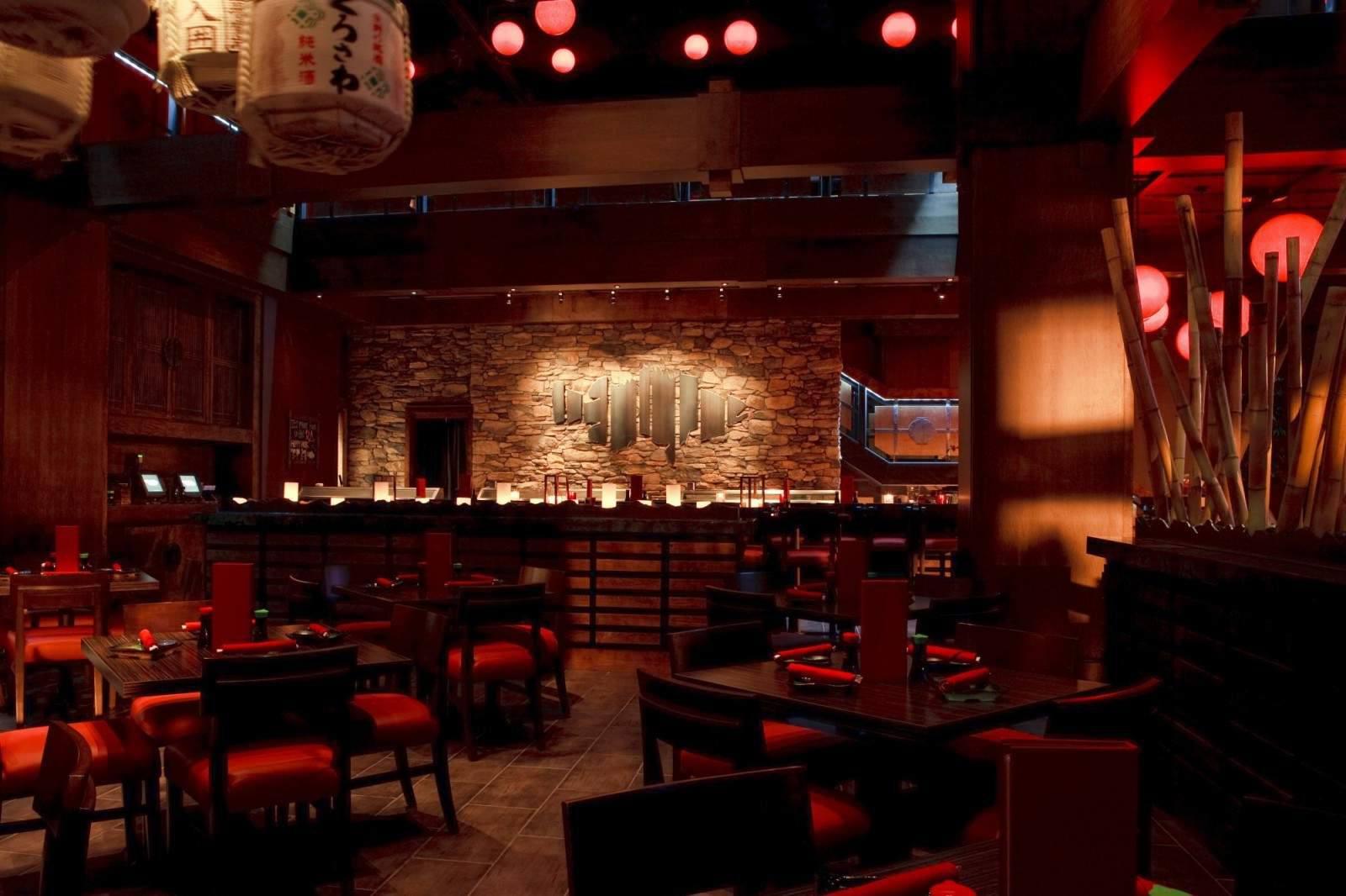 Interior of RA Sushi Atlanta