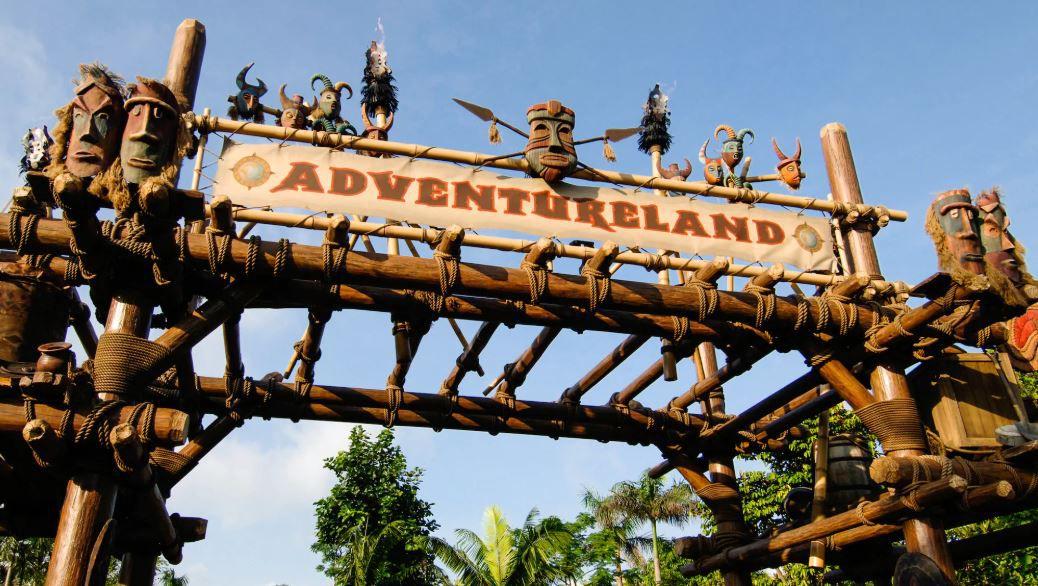 Adventure Land at Disney World