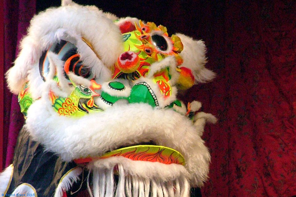 Lion-Dancing in Dublin at Chinese New Year
