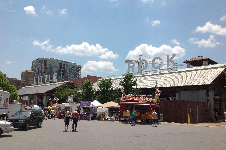 River Market District Little Rock