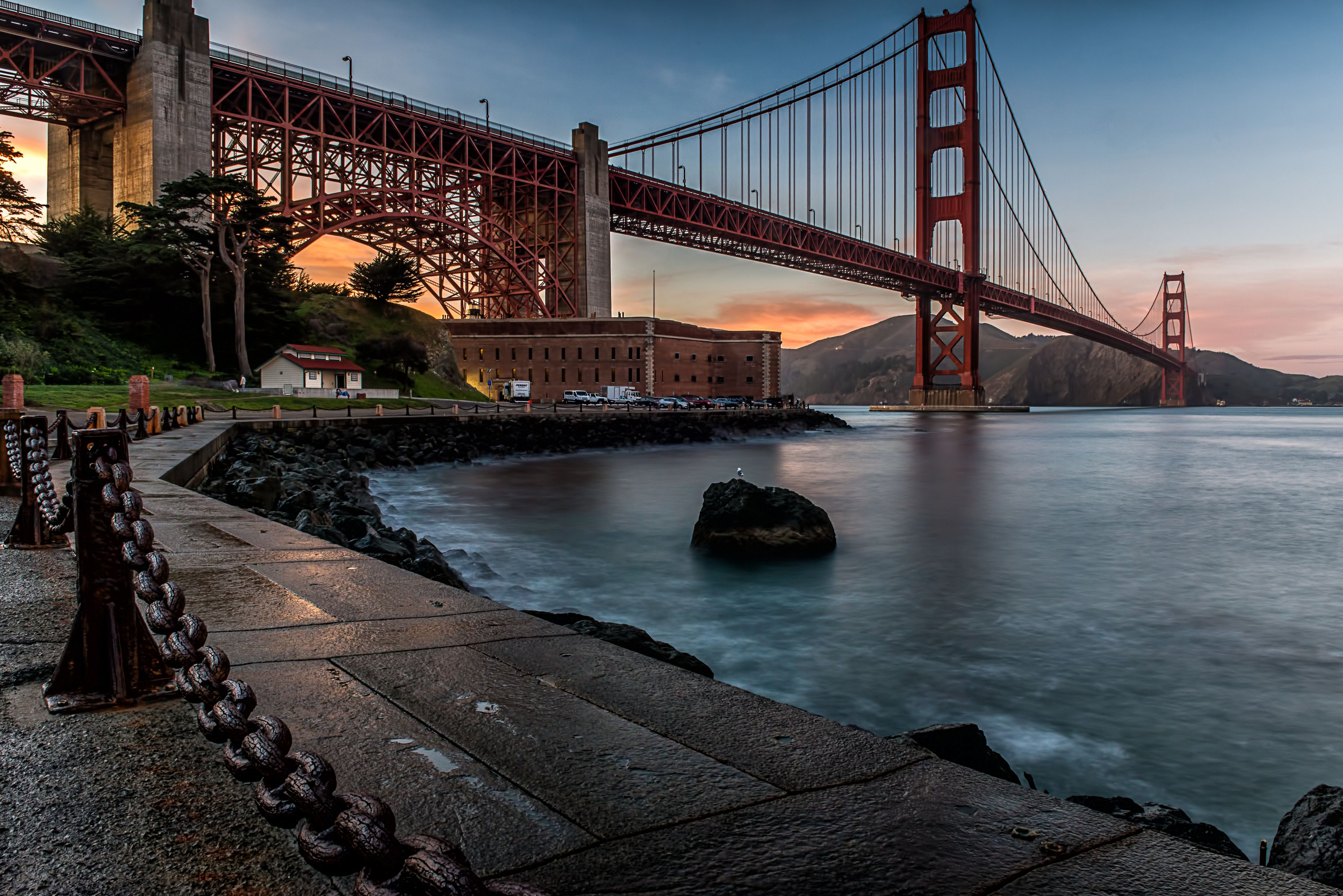Anochecer en Fort Point