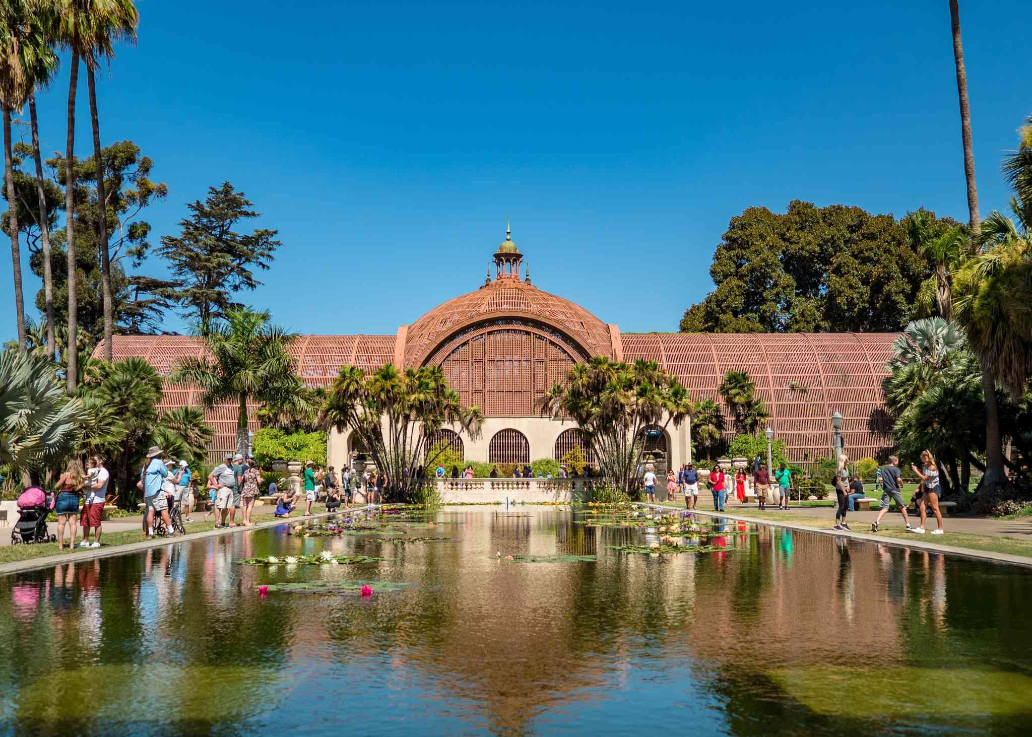 Balboa Park garden