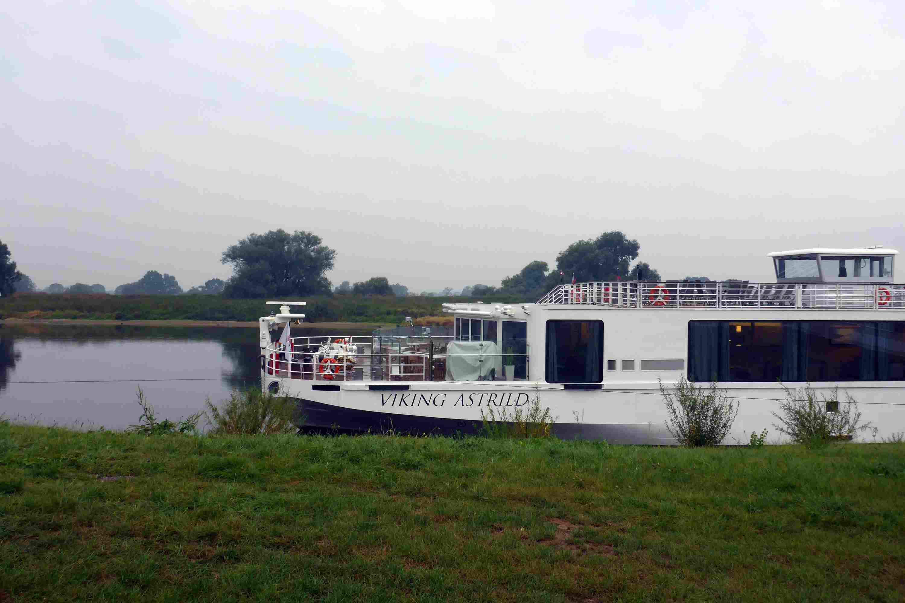 Viking Astrild on the Elbe River in Germany