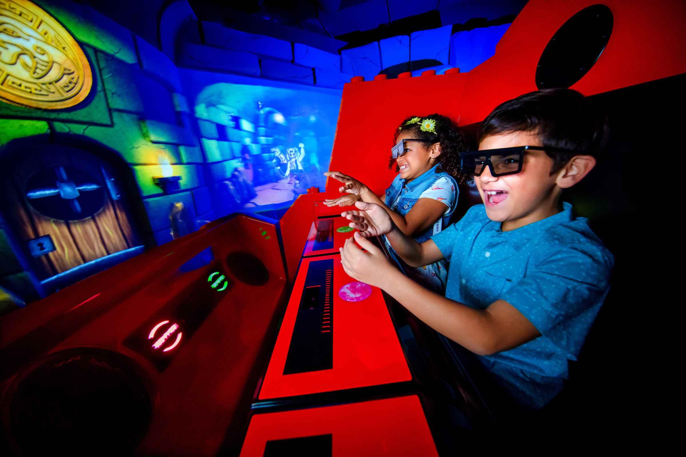 Ninjago ride at Legoland Florida
