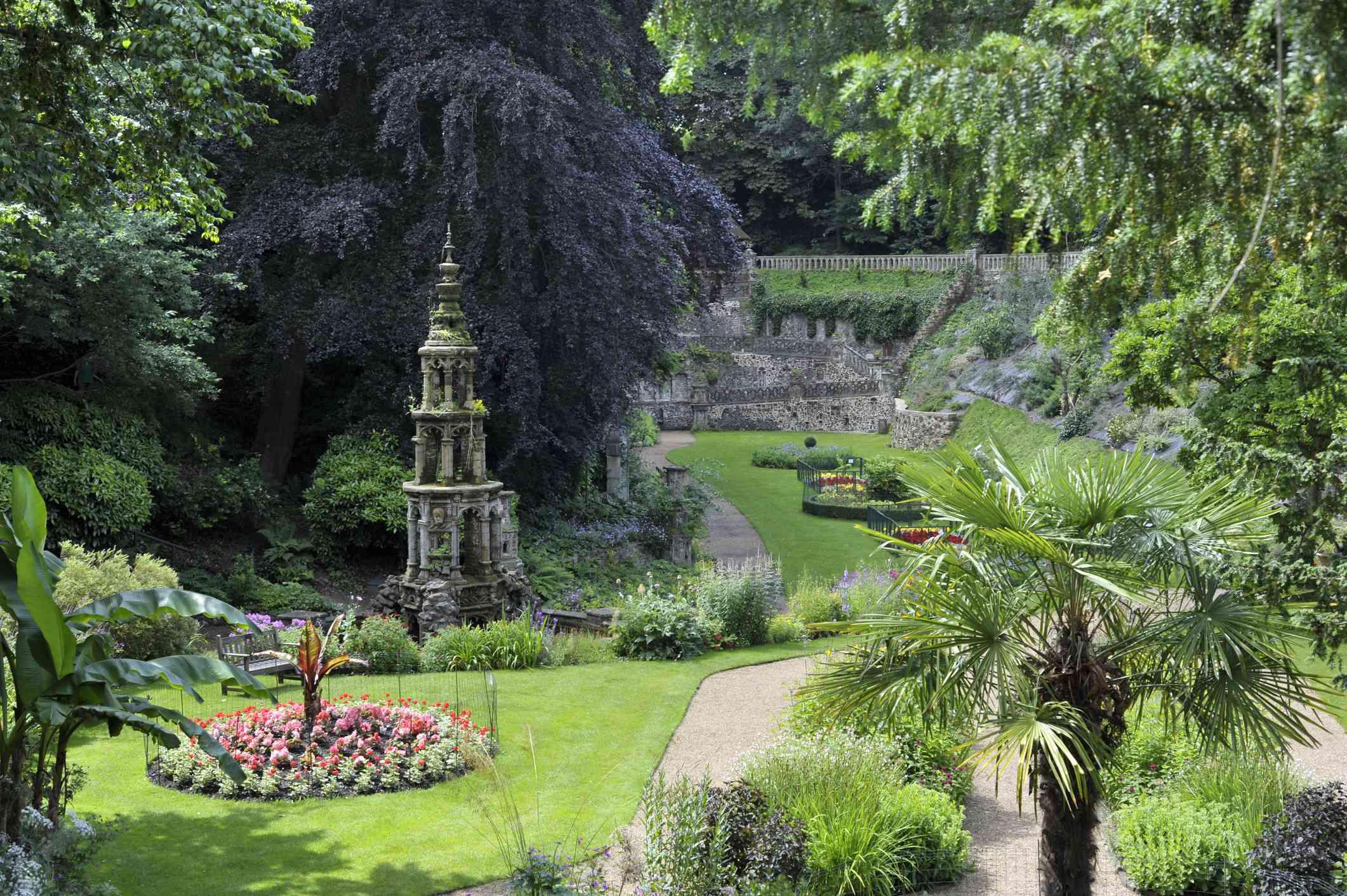 The Plantation Garden in Norwich, England