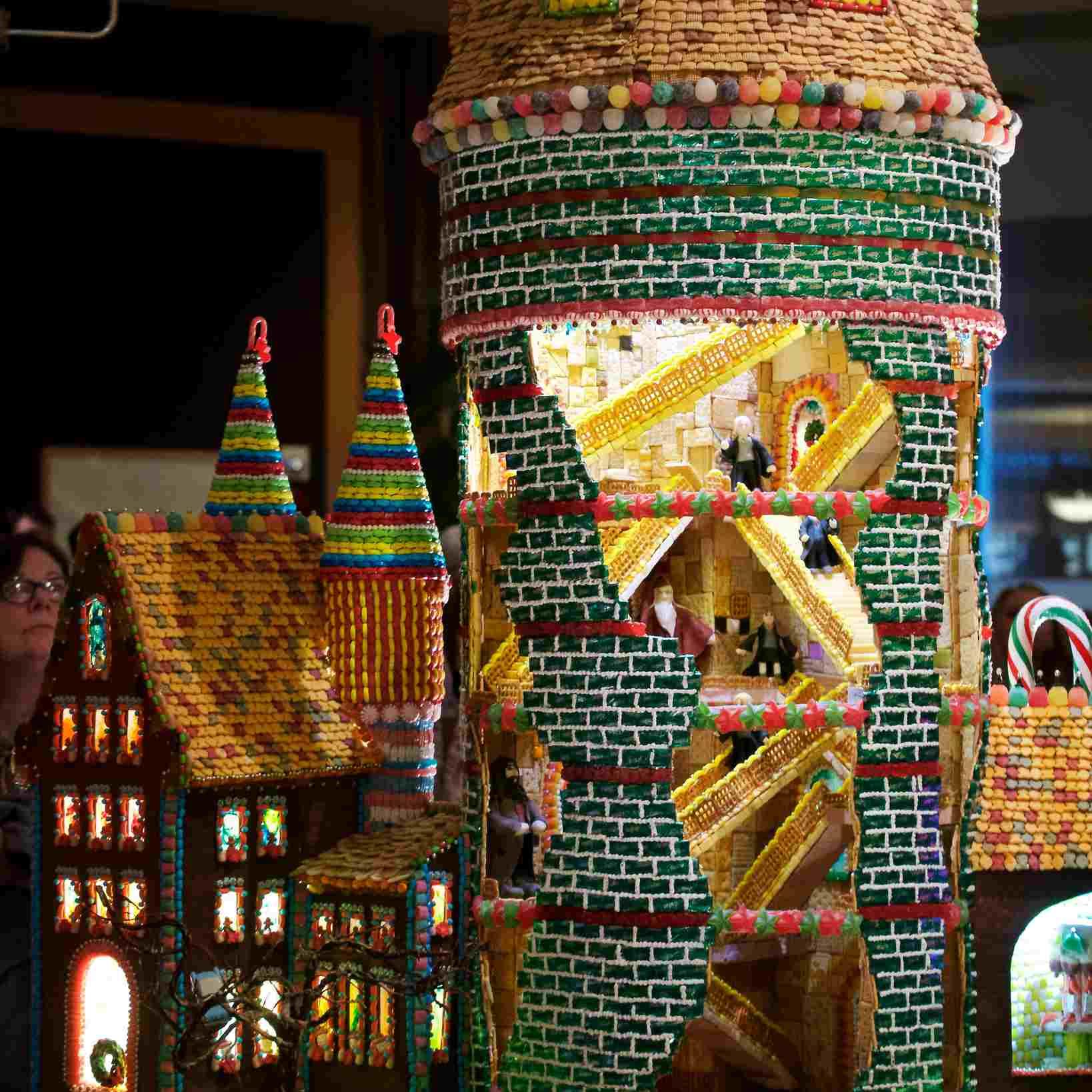 Gingerbread Village in Seattle