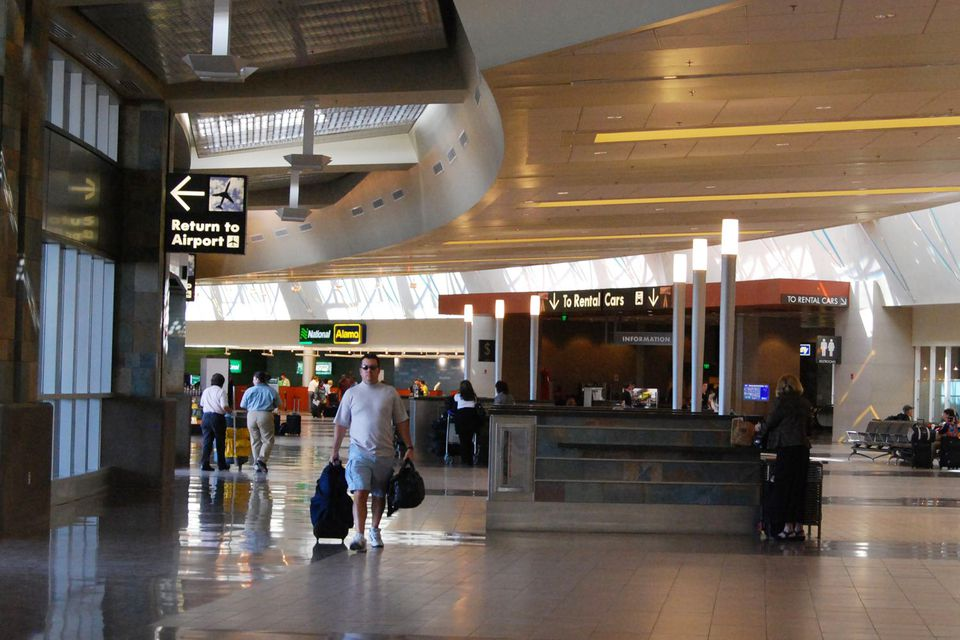 Phoenix Airport Rental Car Return >> Phoenix Sky Harbor Int L Airport Rental Car Center