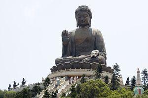 Big buddha at po lin monastery