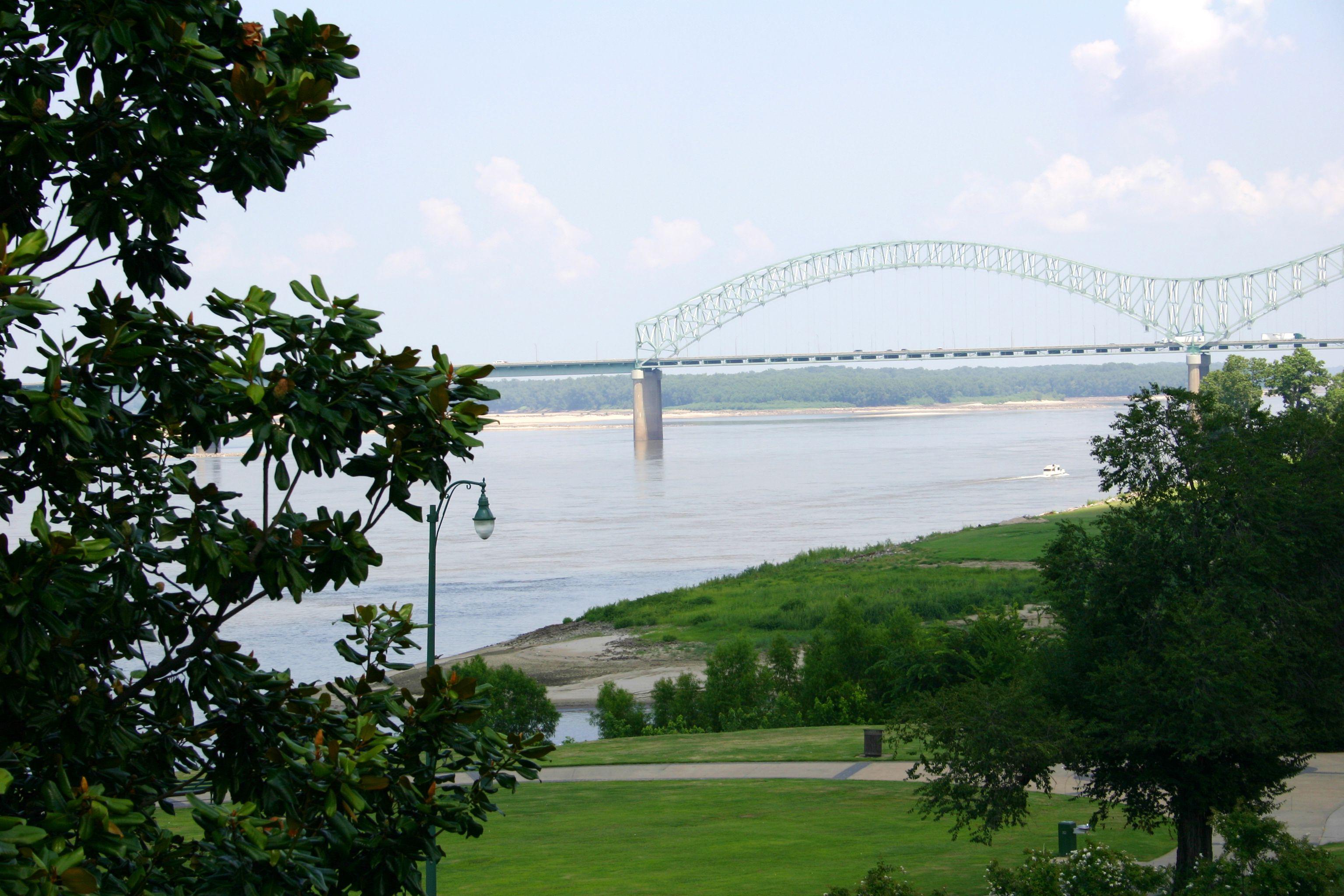 Memphis Bridge Horizontal in summer