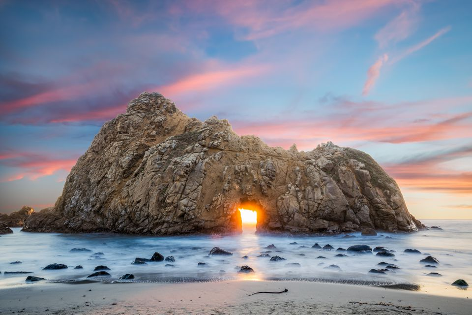 Pfeiffer Beach Sunset - Big Sur, CA