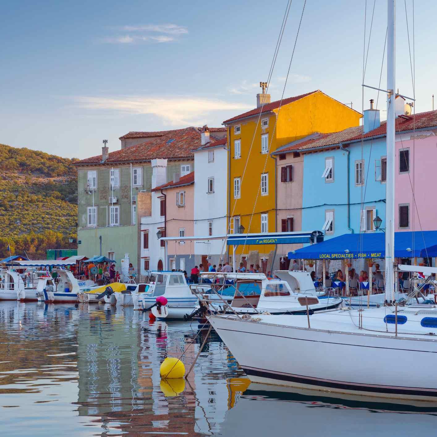 Croatia, Cres Island, Cres Town