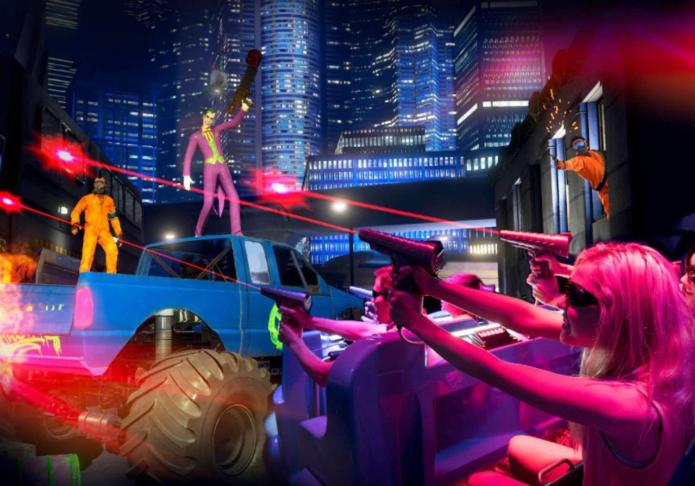 Justice League Battle For Metropolis 4D