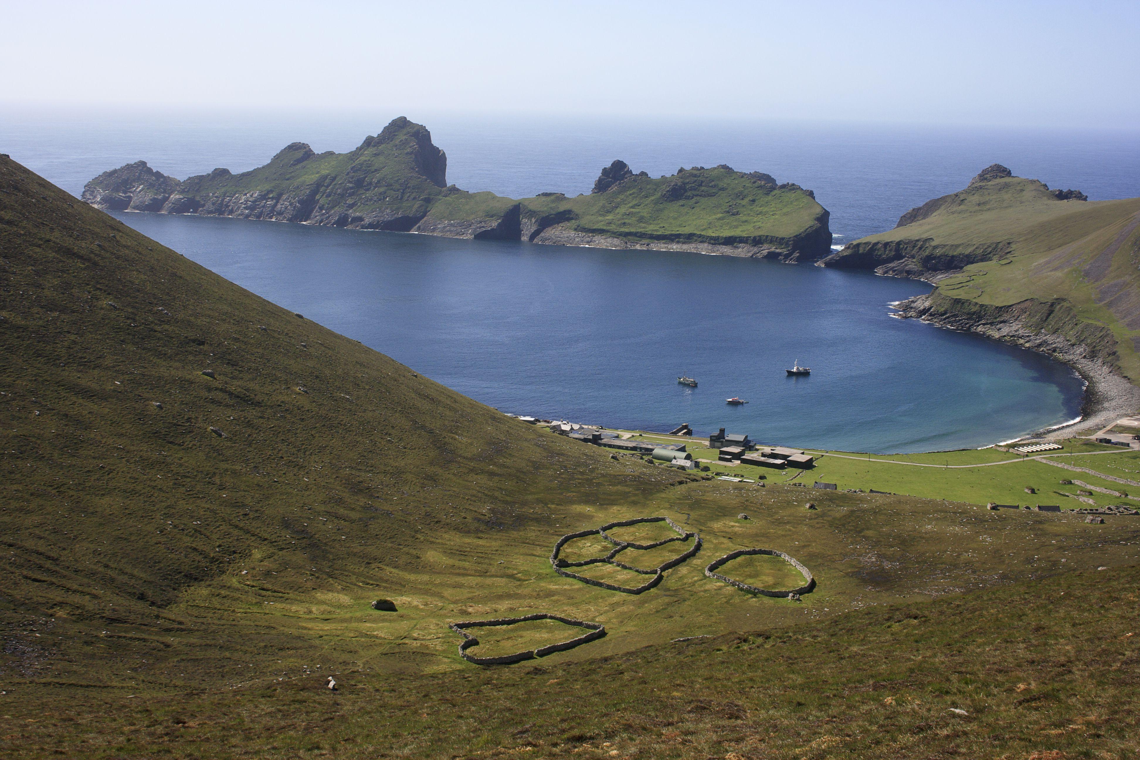 Hirta Harbor on St Kilda