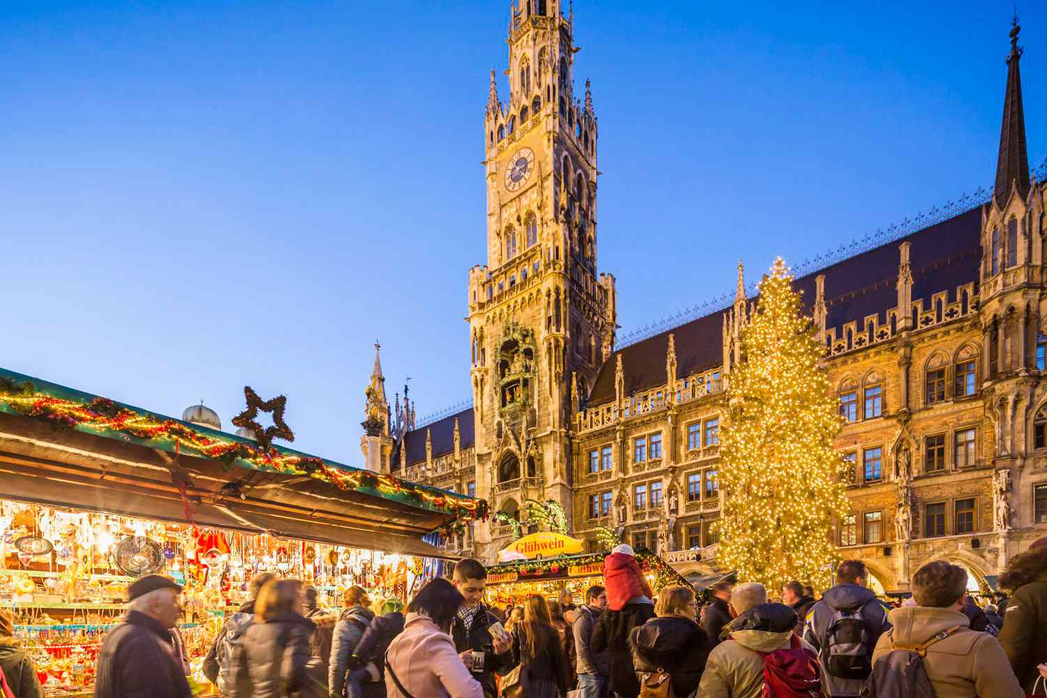 Munich Christmas Market Map.Best Christmas Markets In Germany