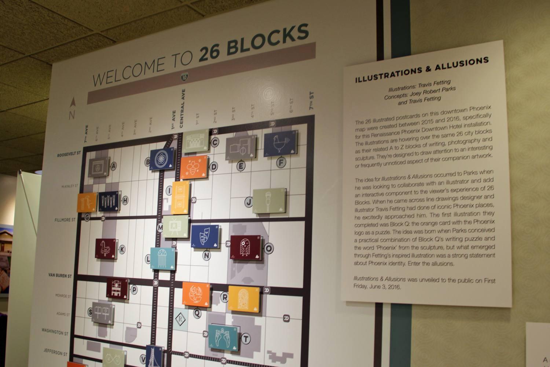 Downtown Phoenix, 26 Blocks Exhibit