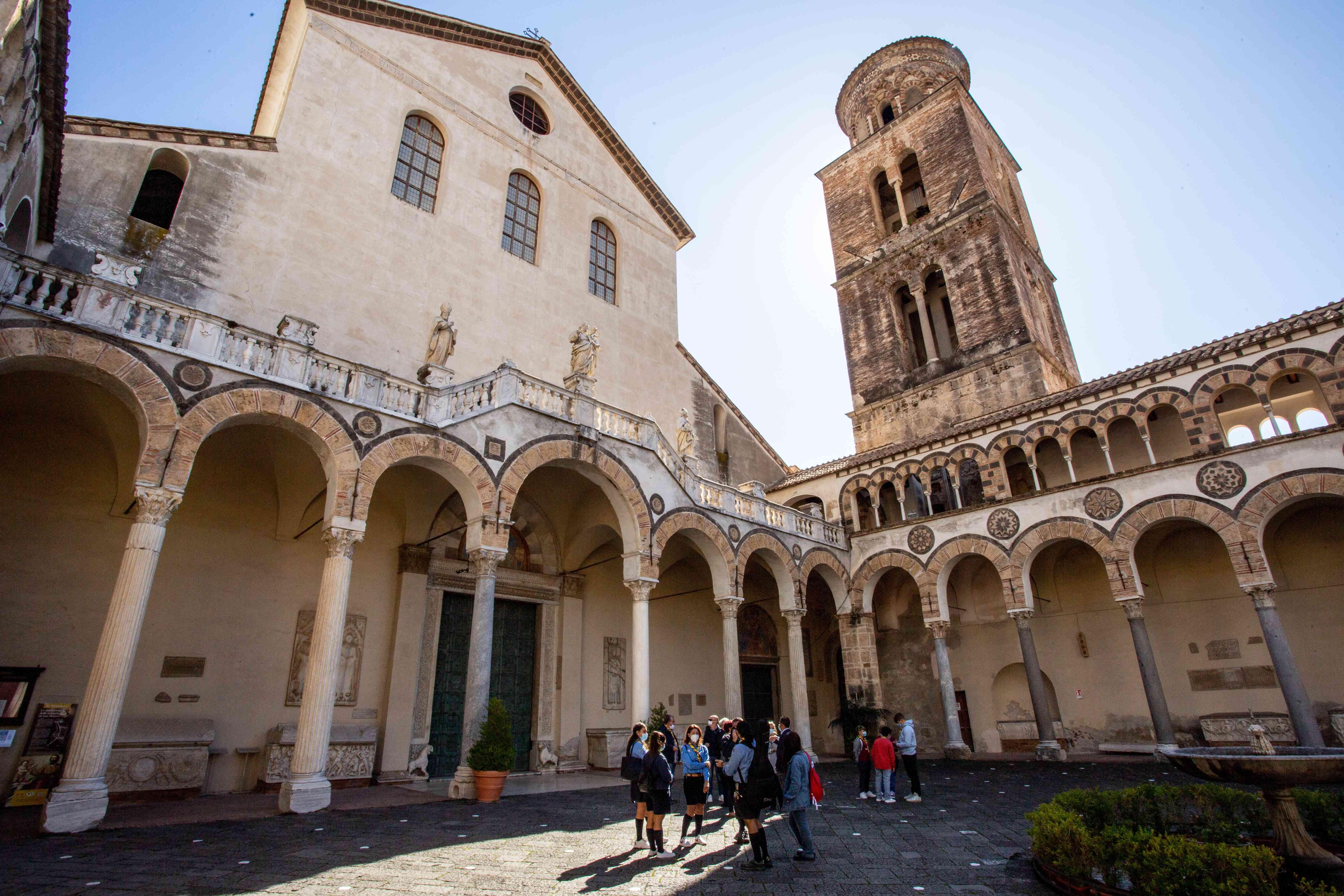 Exterior of the Duomo di Salerno