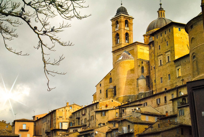 Urbino in Italy.