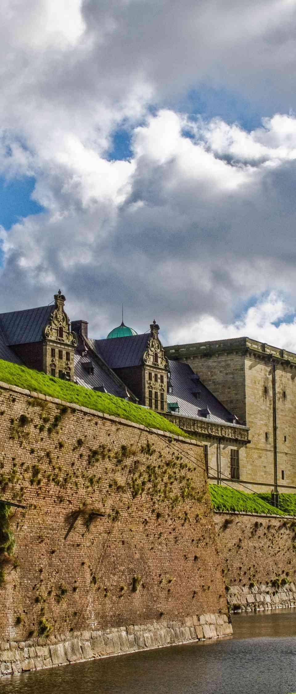 Kronborg Slot in Denmark