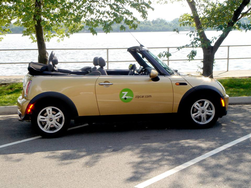 Zipcar car sharing service