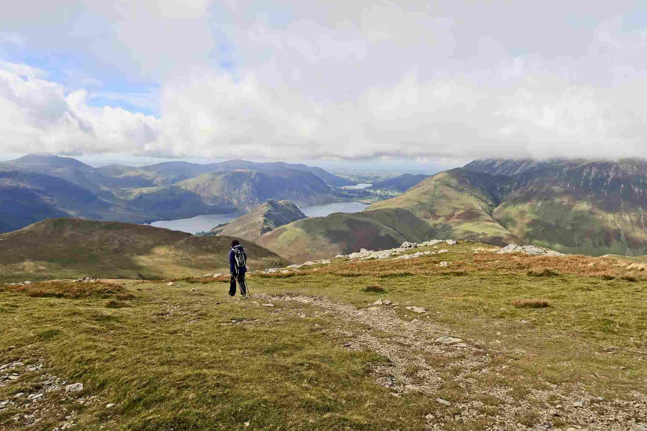 Hillwalker and Lakeland Fells; English Lake District