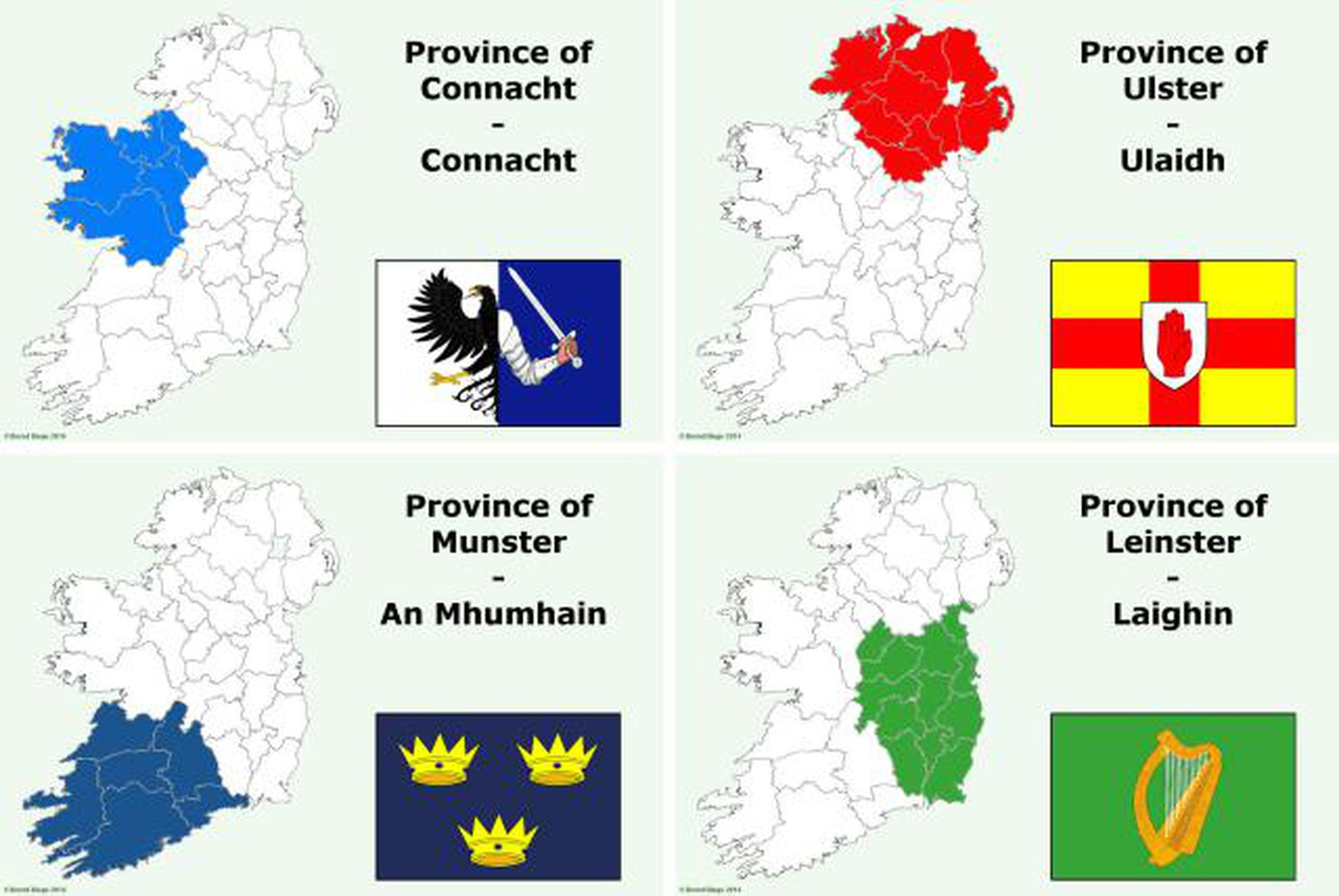 Map Of Ireland Provinces And Counties.Provinces Of Ireland Information And History