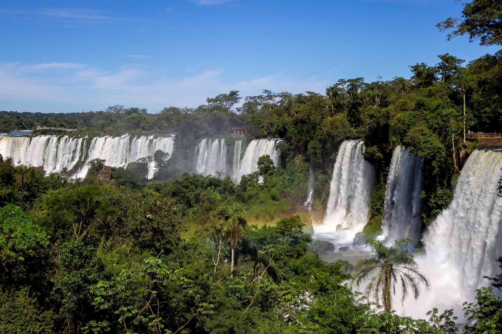 Iguazua Falls hike
