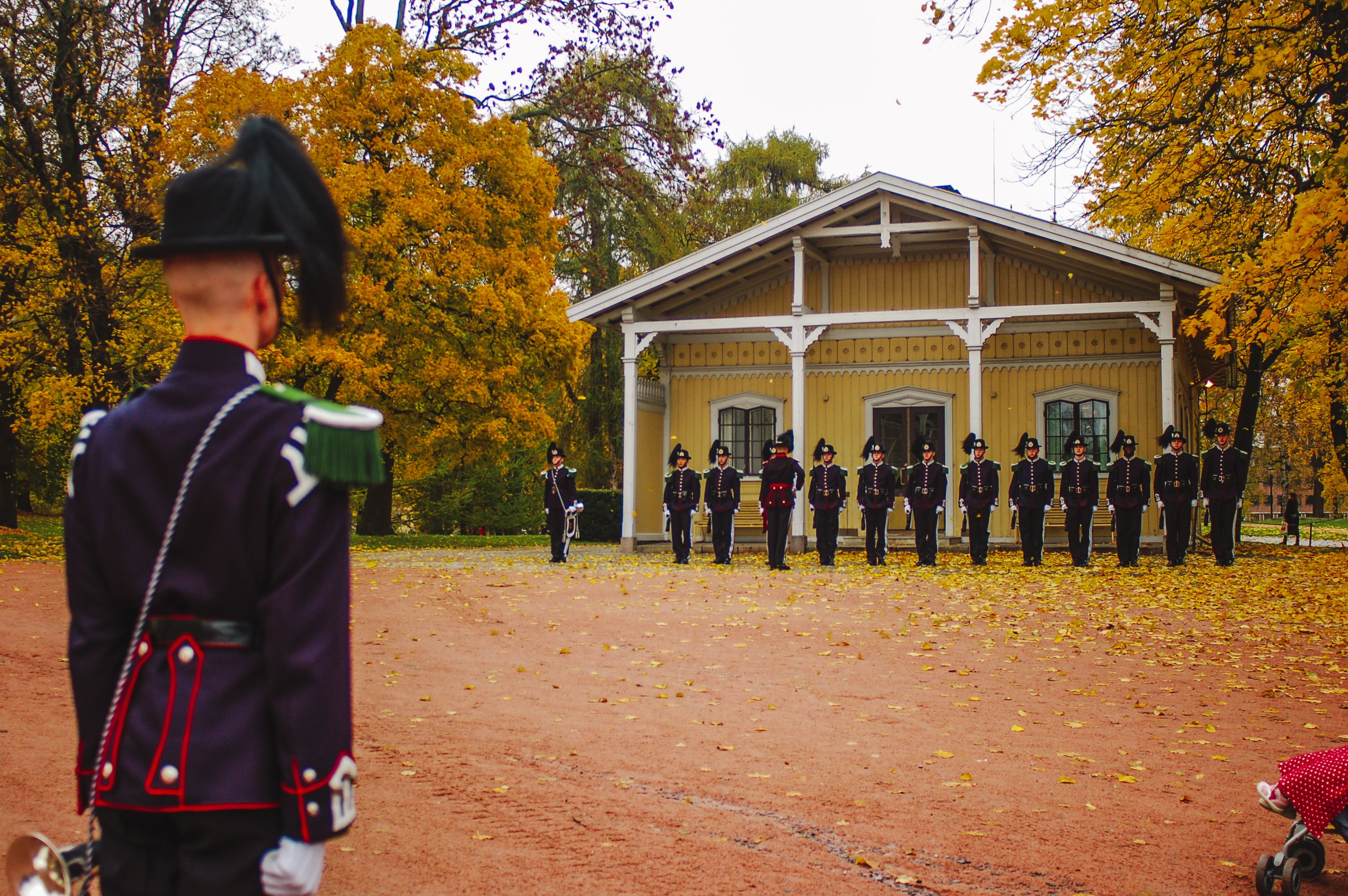 Changing of the Guards in Oslo