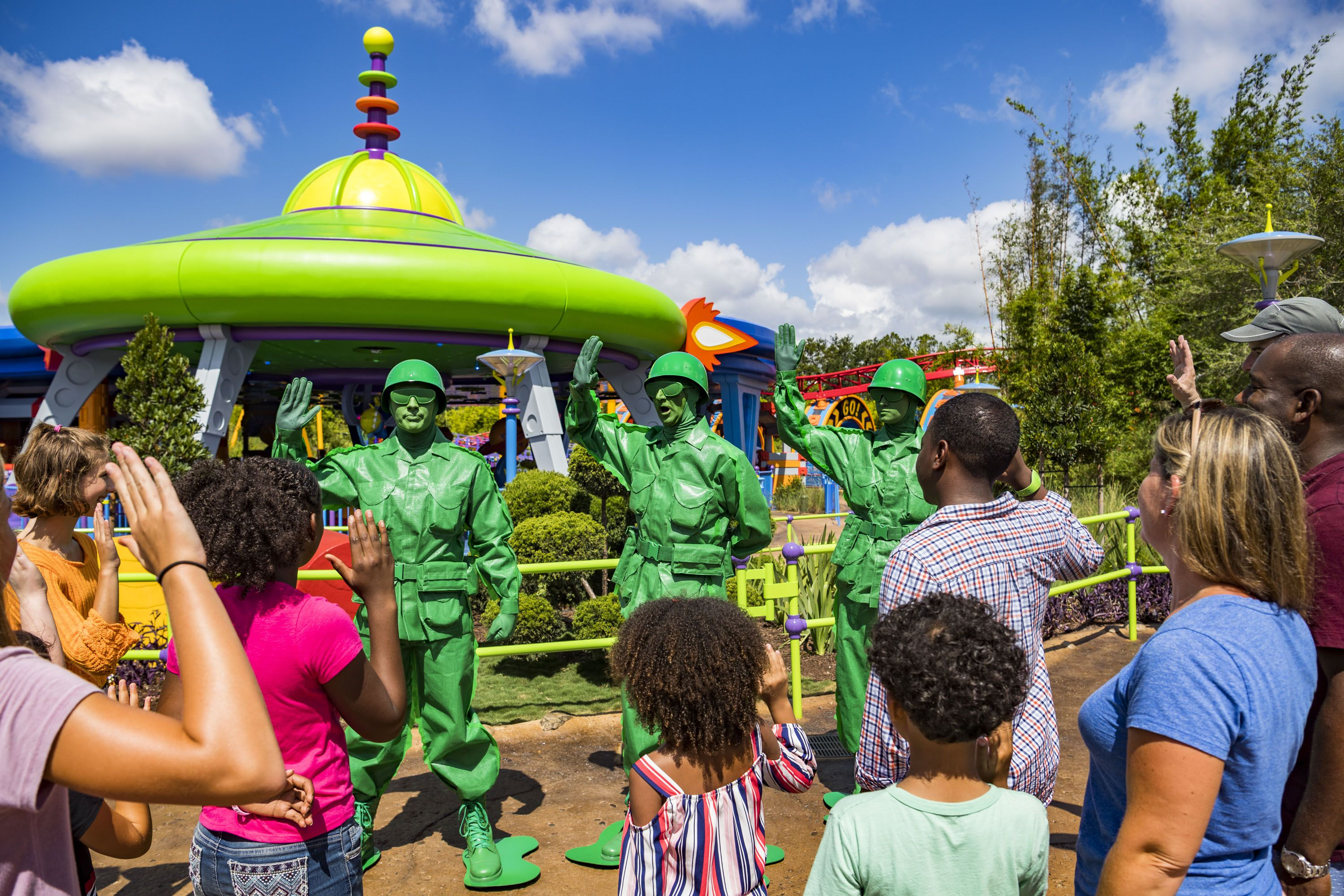 Green Army Men at Toy Story Land