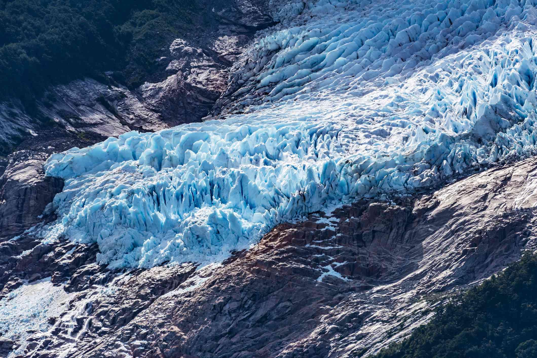 Balmaceda Glacier at the northern end of Last Hope Sound