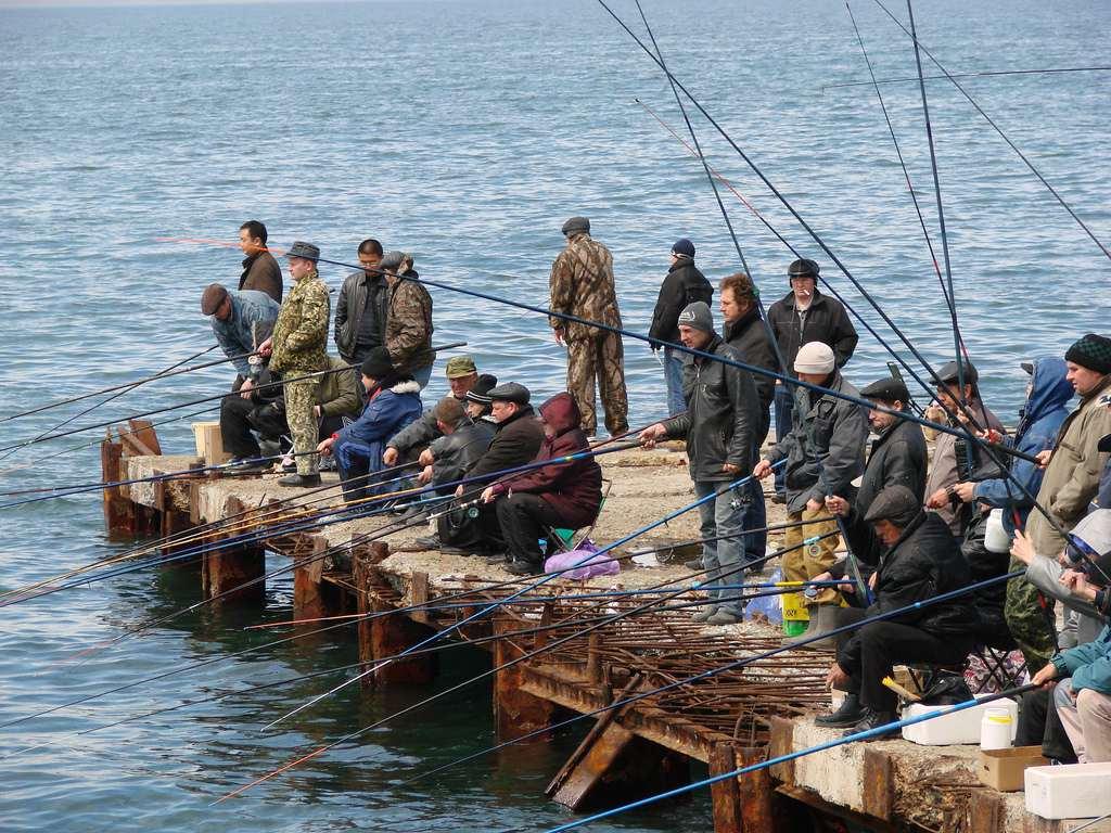 Winter Fishing in Vladivostok