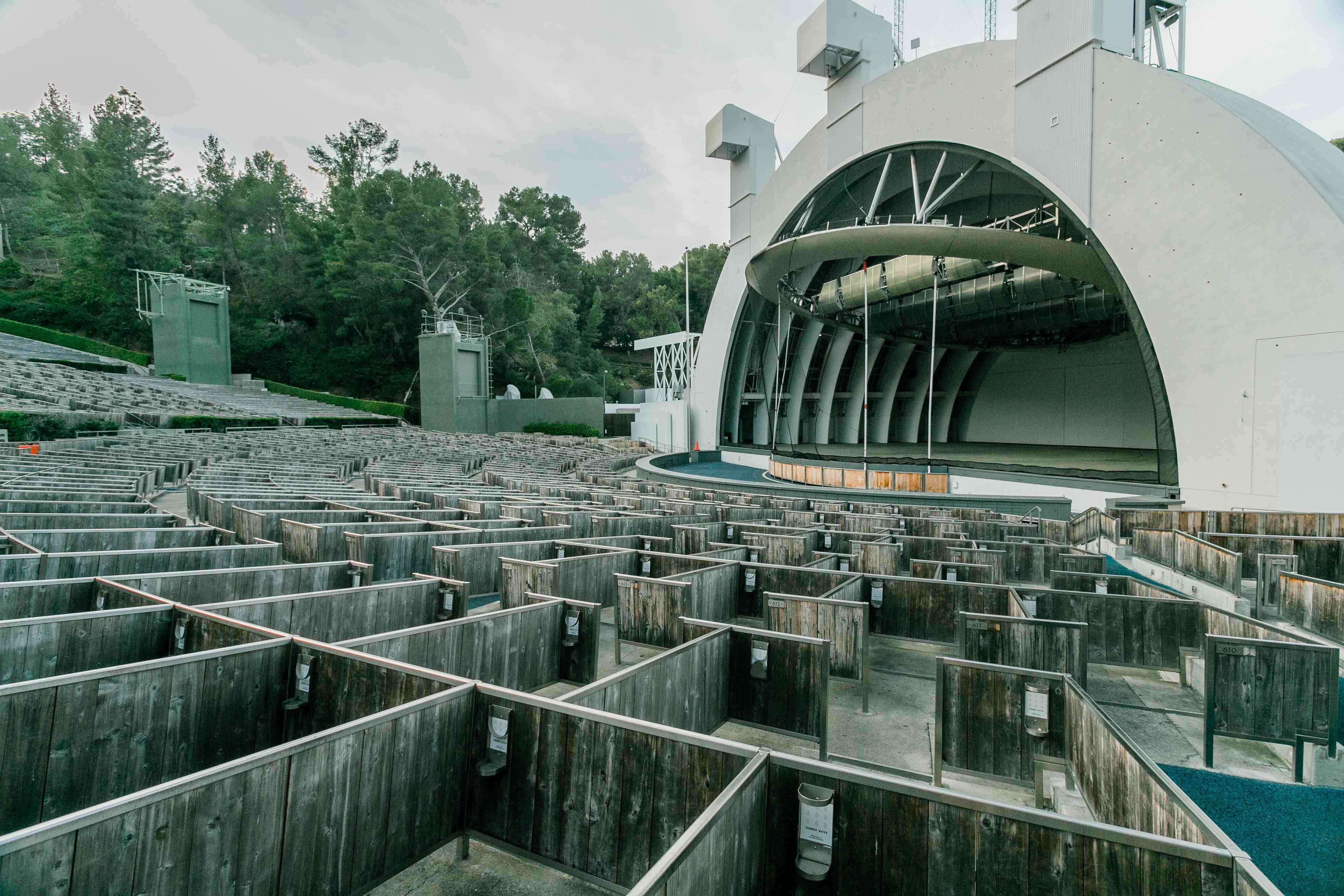 The Hollywood Bowl in Los Angeles, California