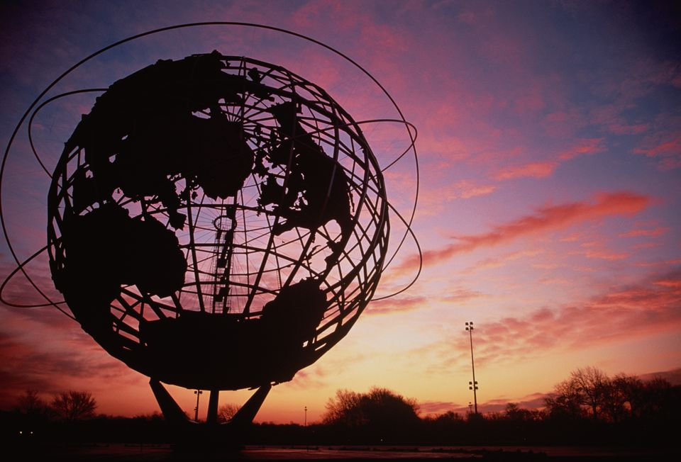 Unisphere at Sunset
